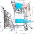 Wygoda kontra przestrzeń, czyli jak urządzić toaletę